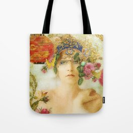 The Summer Queen Tote Bag