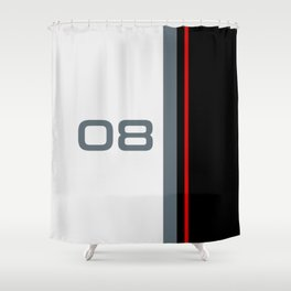 308 Racing Cup Livery Shower Curtain