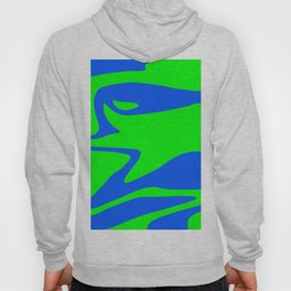 Wild: Blue and Green Hoody