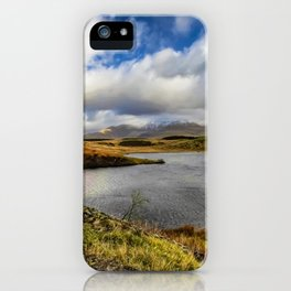 Llyn y Dywarchen Snowdonia iPhone Case