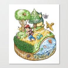 Green Version Canvas Print