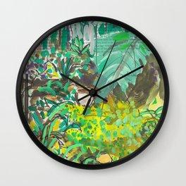 4 Macleay St Garden Wall Clock