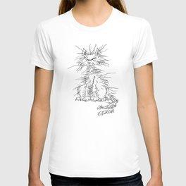 Disgruntled Cat T-shirt
