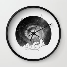 Our imaginary night. Wall Clock