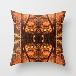 """Key To Mother Earth"" Throw Pillow"