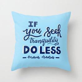 MA Throw Pillow