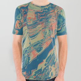 XĪ _ All Over Graphic Tee