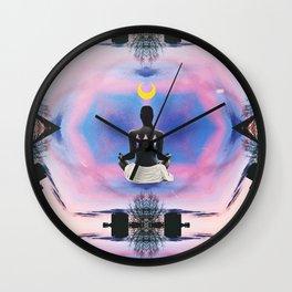 New Moon Dreaming Wall Clock