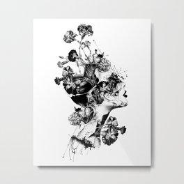 Broken BW Metal Print