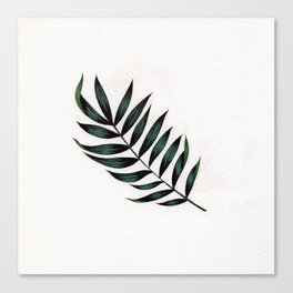 Tropic Fern Canvas Print