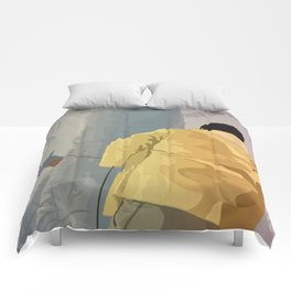 Jurassic Park - Dennis and the Dilophosaurus Comforters