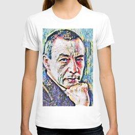 Sergei Rachmaninoff (Serghei Rahmaninov) in 1921 (digitized photography) T-shirt