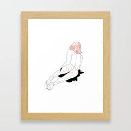 Grl Framed Art Print