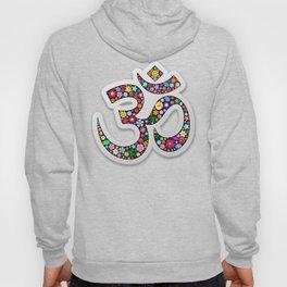 Namaste Floral Yoga Symbol Hoody
