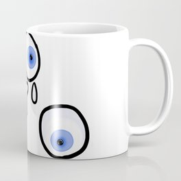 Floating eyes Coffee Mug