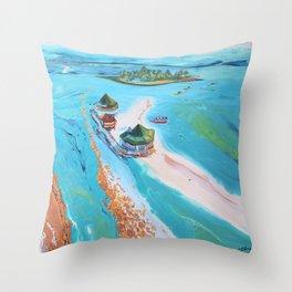 El Acuario  Throw Pillow
