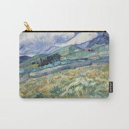 Vincent van Gogh - Landscape from Saint-Rémy Carry-All Pouch