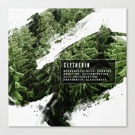 Slytherin Nature Canvas Print
