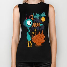 Heat With Somebody Biker Tank