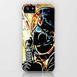 Fighter Pilot's View of the Combat Ground iPhone Case