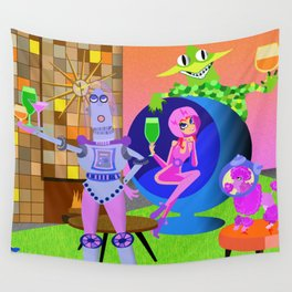 Cheer to the future! Wall Tapestry