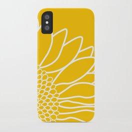 Sunflower Cheerfulness iPhone Case