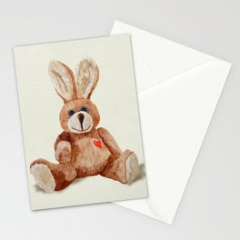 Cuddly Care Rabbit II Stationery Cards