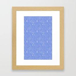 Fish hooks Framed Art Print