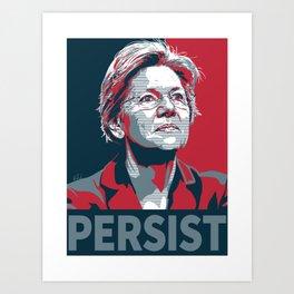 #Persist Art Print
