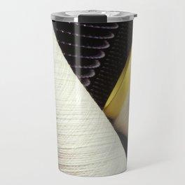 Cotton Yarn Coil  Travel Mug