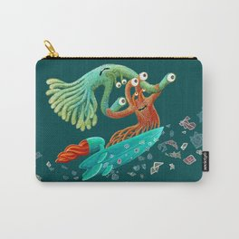 Surfing Monsters Carry-All Pouch