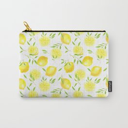 Lemons and leaves  Carry-All Pouch