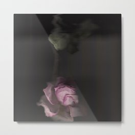 Rose Scan Metal Print