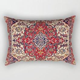 Esfahan Central Persian Rug Print Rectangular Pillow