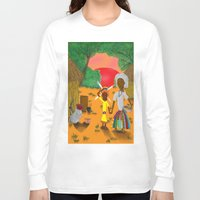 book cover Long Sleeve T-shirts featuring Kilalu book cover by Vincent Poe