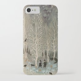 White Woods iPhone Case