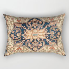 Ferahan  Antique West Persian Rug Print Rectangular Pillow