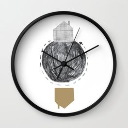 The after and the before 4 Wall Clock