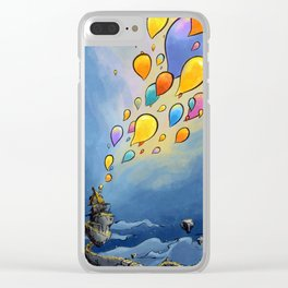 Flying Idees Clear iPhone Case