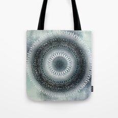 WINTER LEAVES MANDALA Tote Bag