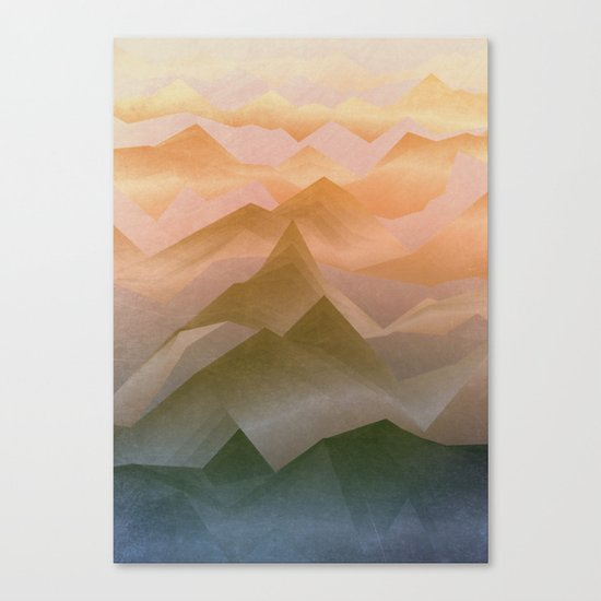 Top of the World (Sunrise) Canvas Print