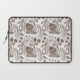 California Quail (Cocoa) Laptop Sleeve