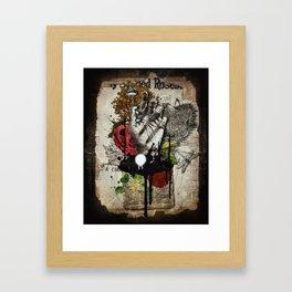 Above Framed Art Print