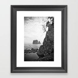 La Push Beach #2 - La Push, WA (3) Framed Art Print