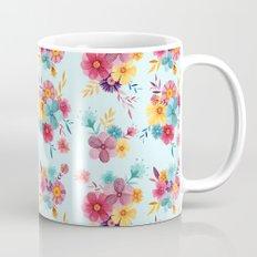 Fresh // Spring Floral Repeat Pattern Mug