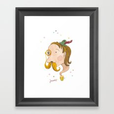 Jawohl Framed Art Print