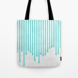Dripping lines Tote Bag