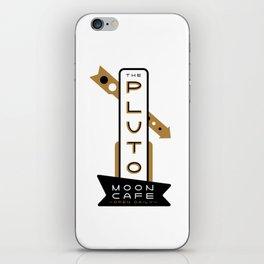 Pluto Moon Cafe iPhone Skin