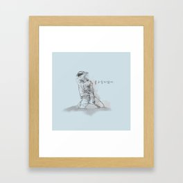Don't Wanna Cry Framed Art Print