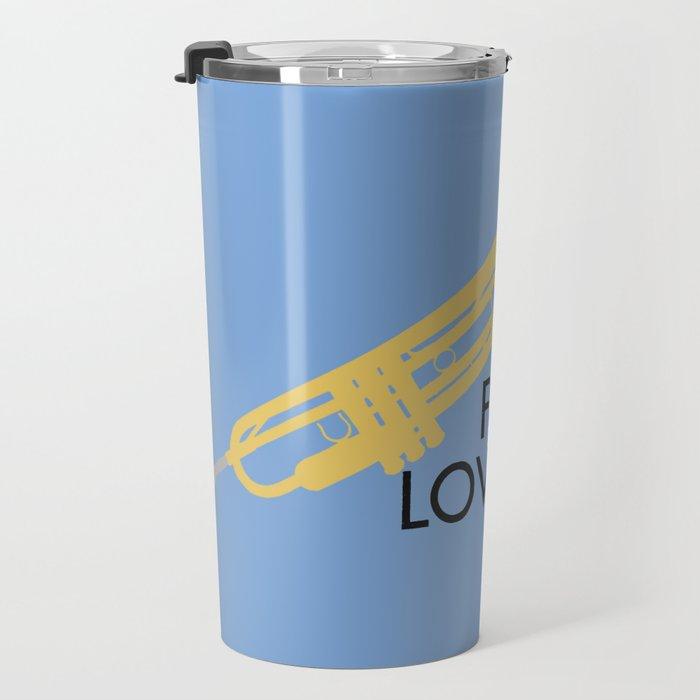For The Love of Music Travel Mug